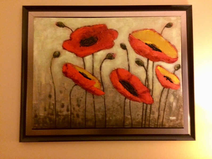 Peaceful Poppies for Dad