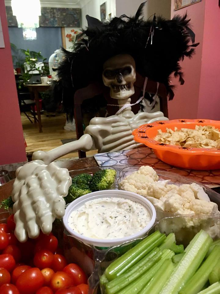Mr. Bones party dip