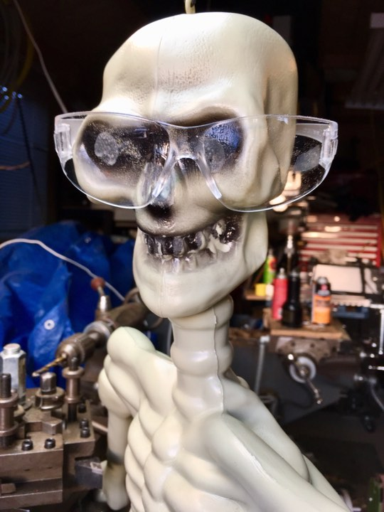 Mr. Bones Safety Glasses