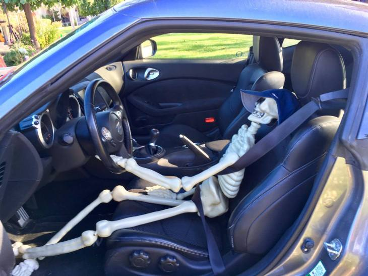 Mr. Bones Sportscar